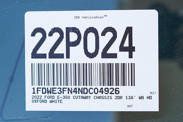 2022 Ford E-350 4x2, Knapheide KUV Service Utility Van #22P024 - photo 28