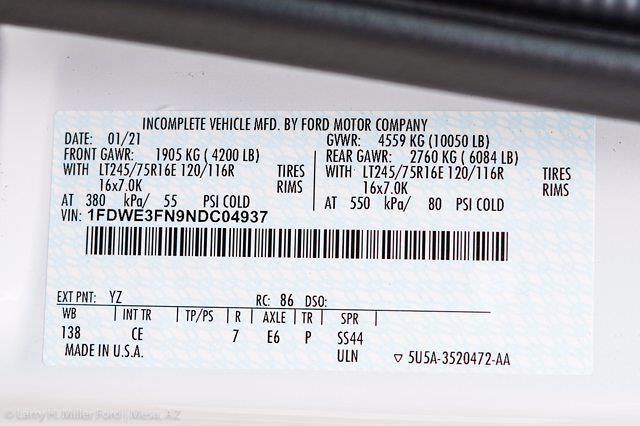 2022 Ford E-350 4x2, Knapheide KUV Service Utility Van #22P031 - photo 26