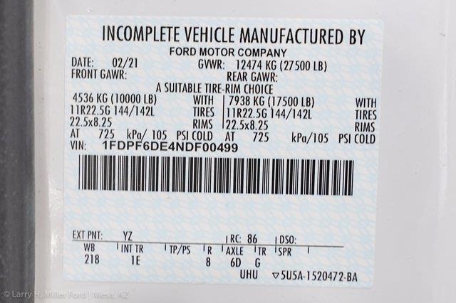 2022 Ford F-650 Regular Cab DRW 4x2, Scelzi SFB Platform Body #22P034 - photo 19