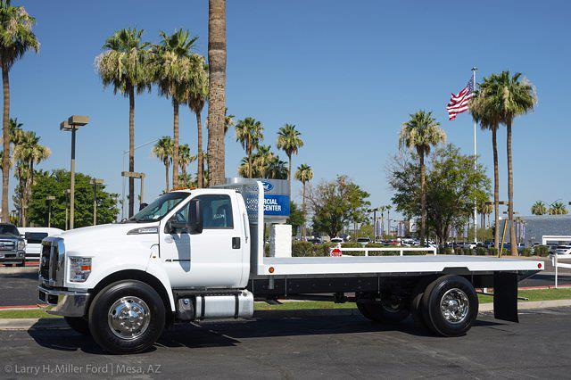 2022 Ford F-650 Regular Cab DRW 4x2, Scelzi SFB Platform Body #22P034 - photo 3