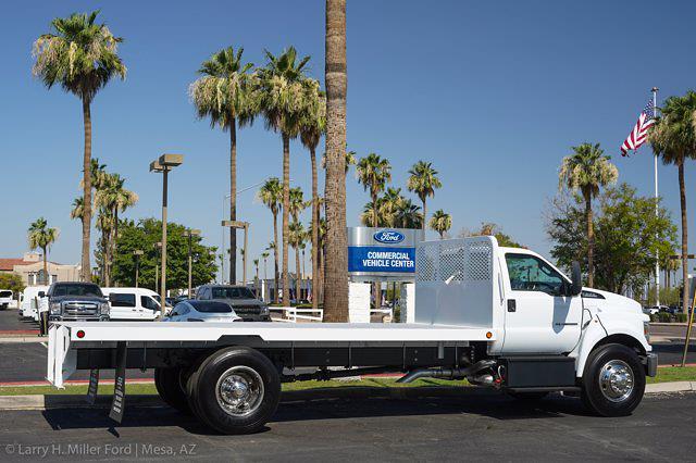 2022 Ford F-650 Regular Cab DRW 4x2, Scelzi SFB Platform Body #22P034 - photo 8