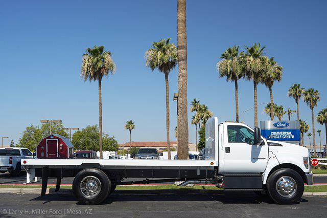 2022 Ford F-650 Regular Cab DRW 4x2, Scelzi SFB Platform Body #22P034 - photo 9