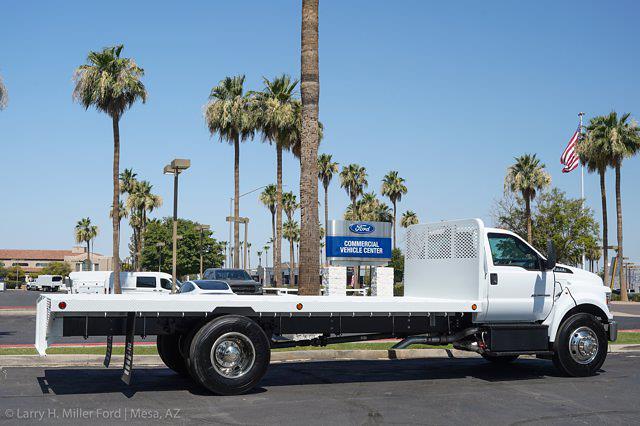 2022 Ford F-650 Regular Cab DRW 4x2, Scelzi SFB Platform Body #22P035 - photo 8