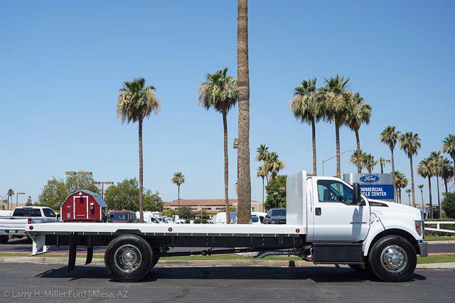 2022 Ford F-650 Regular Cab DRW 4x2, Scelzi SFB Platform Body #22P035 - photo 9
