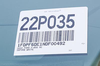 2022 Ford F-650 Regular Cab DRW 4x2, Scelzi SFB Platform Body #22P035 - photo 20