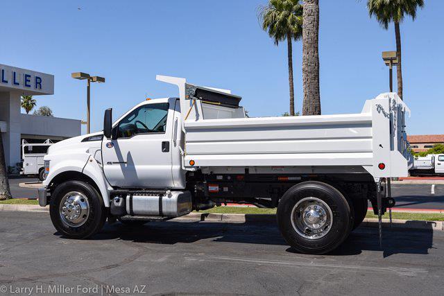 2022 Ford F-650 Regular Cab DRW 4x2, Scelzi Dump Body #22P036 - photo 5