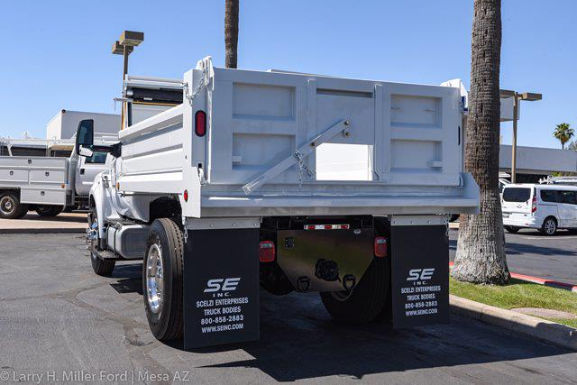 2022 Ford F-650 Regular Cab DRW 4x2, Scelzi Dump Body #22P036 - photo 6