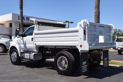 2022 Ford F-650 Regular Cab DRW 4x2, Scelzi Dump Body #22P036 - photo 2