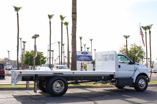 2022 Ford F-650 Regular Cab DRW 4x2, Scelzi SFB Platform Body #22P038 - photo 9