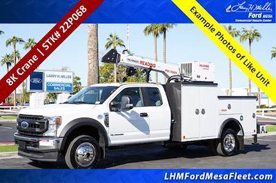 2022 F-550 Super Cab DRW 4x4,  Reading Master Mechanic HD Crane Mechanics Body #22P068 - photo 1