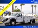 2022 F-450 Regular Cab DRW 4x2,  Scelzi CTFB Contractor Body #22P072 - photo 1