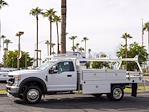 2022 F-450 Regular Cab DRW 4x2,  Scelzi CTFB Contractor Body #22P072 - photo 4