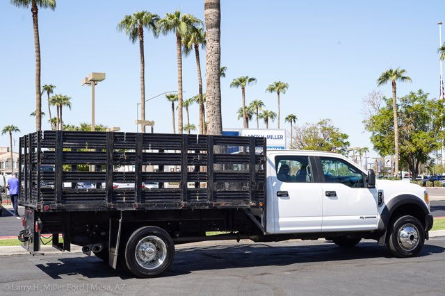 2017 Ford F-550 Crew Cab DRW 4x4, Stake Bed #23096P - photo 12