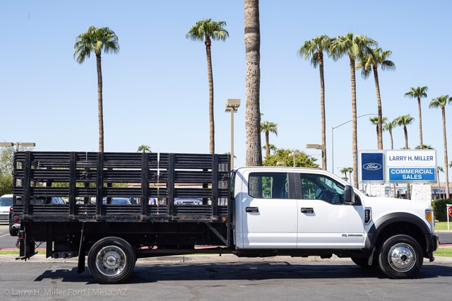 2017 Ford F-550 Crew Cab DRW 4x4, Stake Bed #23096P - photo 13