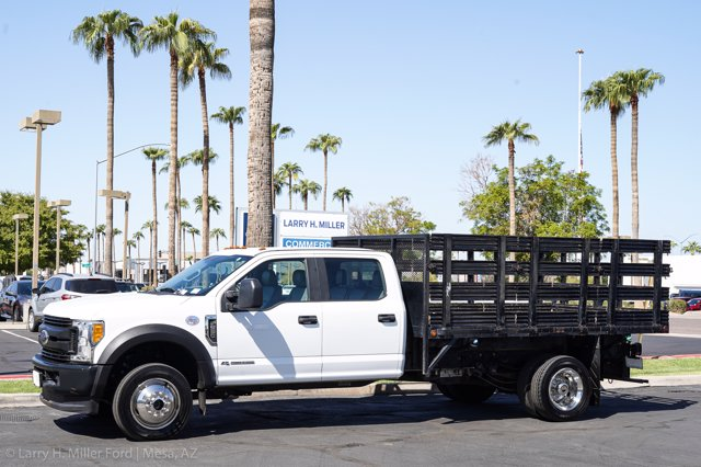 2017 Ford F-550 Crew Cab DRW 4x4, Stake Bed #23096P - photo 3
