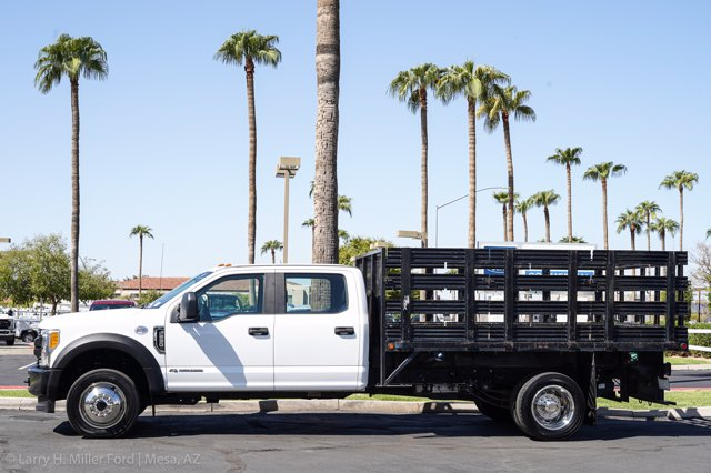 2017 Ford F-550 Crew Cab DRW 4x4, Stake Bed #23096P - photo 5