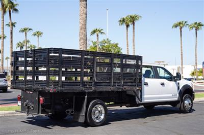 2017 Ford F-550 Crew Cab DRW 4x4, Stake Bed #23096P - photo 11