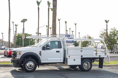 2020 Ford F-450 Regular Cab DRW 4x4, Contractor Body #23611P - photo 3