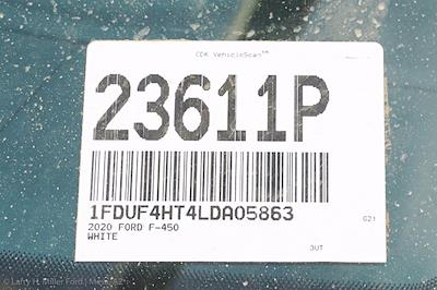 2020 Ford F-450 Regular Cab DRW 4x4, Contractor Body #23611P - photo 28