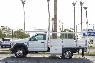 2020 Ford F-450 Regular Cab DRW 4x4, Contractor Body #23611P - photo 5