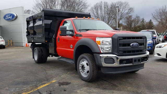 2016 F-550 Regular Cab DRW 4x4, Landscape Dump #163306 - photo 4