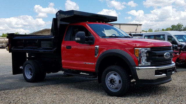 2017 F-450 Regular Cab DRW 4x4, Dump Body #172714 - photo 3
