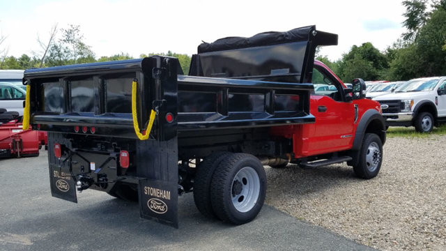 2017 F-450 Regular Cab DRW 4x4, Dump Body #172714 - photo 4