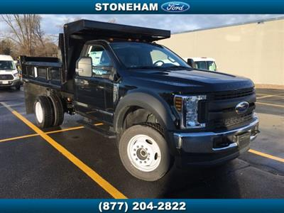 2018 F-450 Regular Cab DRW 4x4,  DuraClass Dump Body #181209 - photo 1