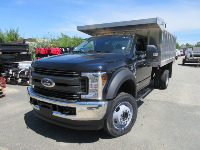 2018 F-550 Regular Cab DRW 4x4,  Duramag Landscape Dump #181430 - photo 3