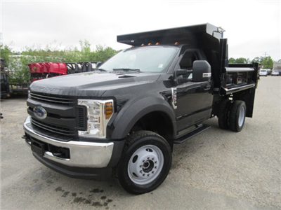 2018 F-550 Regular Cab DRW 4x4,  Duraclass Dump Body #181470 - photo 3