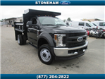2018 F-550 Regular Cab DRW 4x4,  Duraclass Dump Body #181470 - photo 1