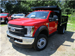 2018 F-450 Regular Cab DRW 4x4,  Duraclass Dump Body #181681 - photo 3