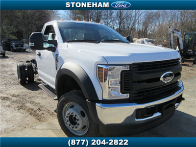 2018 F-550 Regular Cab DRW 4x4,  Cab Chassis #18652 - photo 1