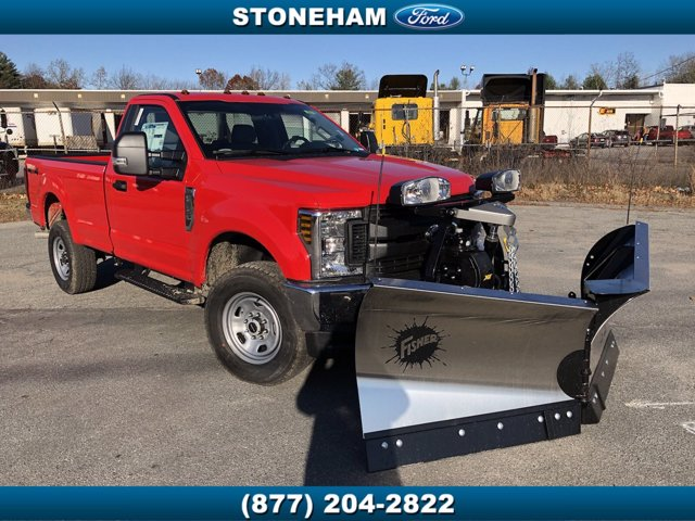 2019 Ford F-350 Regular Cab 4x4, Fisher Pickup #194761 - photo 1