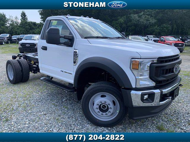 2021 Ford F-450 Regular Cab DRW 4x4, Cab Chassis #211419 - photo 1