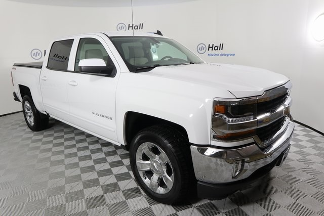 2018 Silverado 1500 Crew Cab 4x4, Pickup #1482266 - photo 4