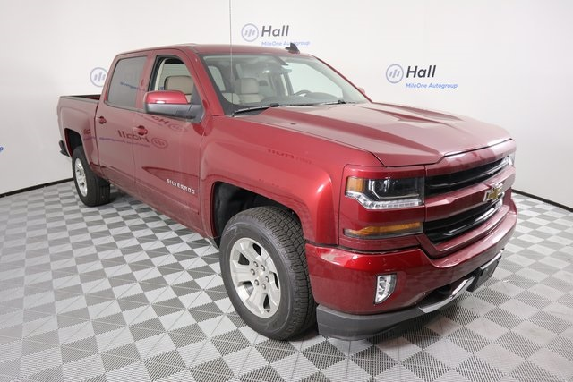 2018 Silverado 1500 Crew Cab 4x4,  Pickup #1482307 - photo 4