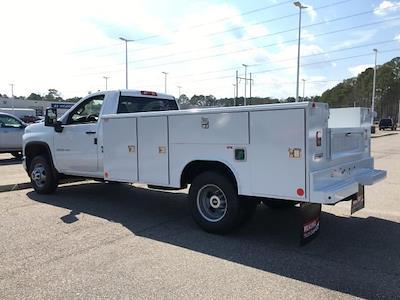 2021 Silverado 3500 Regular Cab 4x4,  Reading SL Service Body #14C139714 - photo 2