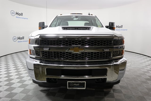 2019 Silverado 3500 Crew Cab DRW 4x4,  Reading Service Body #14C157533 - photo 3