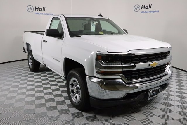 2018 Silverado 1500 Regular Cab 4x4 Pickup #14C169144 - photo 4