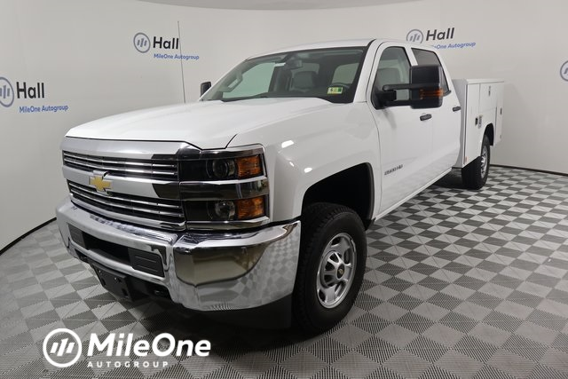2018 Silverado 2500 Crew Cab 4x4,  Reading Classic II Steel Service Body #14C264920 - photo 1