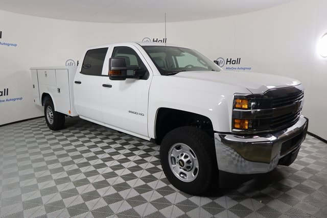 2018 Silverado 2500 Crew Cab 4x4,  Reading Classic II Steel Service Body #14C264920 - photo 4