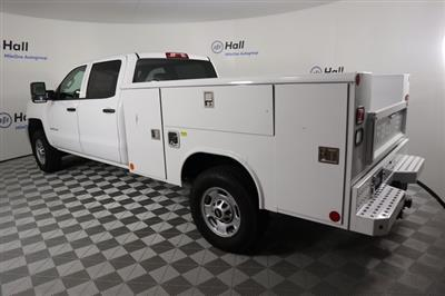 2018 Silverado 2500 Crew Cab 4x4,  Reading Classic II Steel Service Body #14C264920 - photo 2