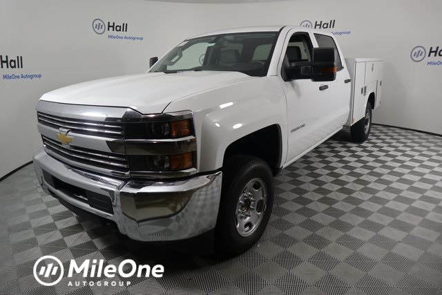 2018 Silverado 2500 Crew Cab 4x2,  Reading Classic II Steel Service Body #14C275586 - photo 1