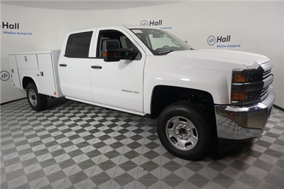 2018 Silverado 2500 Crew Cab 4x2,  Reading Classic II Steel Service Body #14C275586 - photo 4