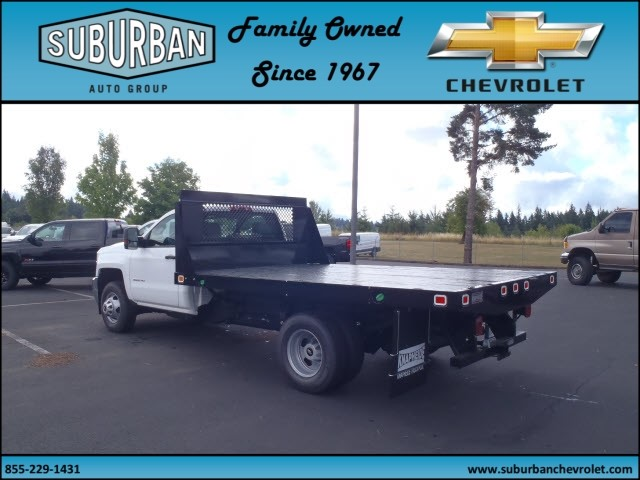 2015 Silverado 3500 Regular Cab, Knapheide Platform Body #T150079 - photo 2