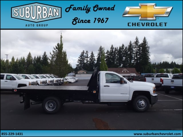 2015 Silverado 3500 Regular Cab, Knapheide Platform Body #T150079 - photo 6