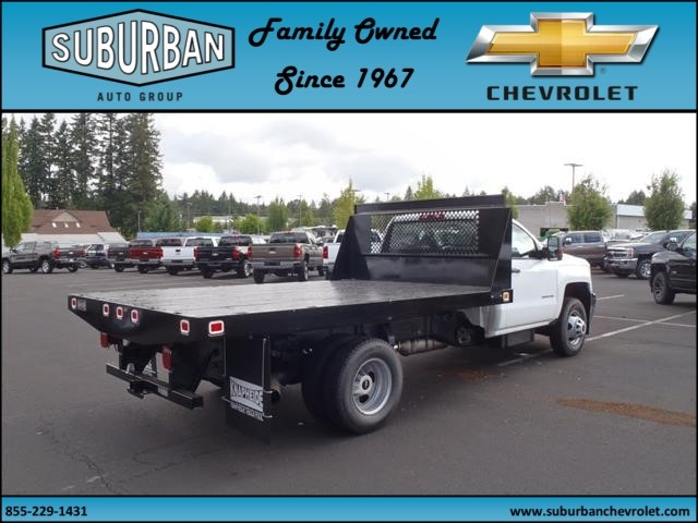 2015 Silverado 3500 Regular Cab, Knapheide Platform Body #T150079 - photo 4