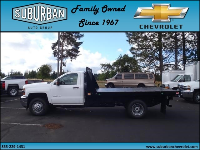 2015 Silverado 3500 Regular Cab, Knapheide Platform Body #T150079 - photo 5