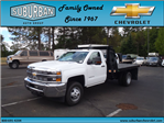 2015 Silverado 3500 Regular Cab, Knapheide Platform Body #T150079 - photo 1